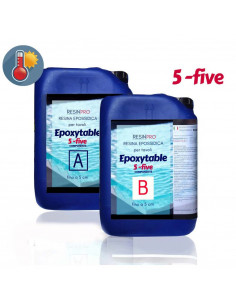 Epoxytable 5-Five Resina Epoxídica para Mesas 9 Kg