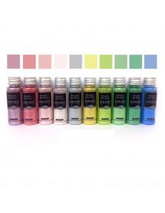 Kit de 10 Pigmentos Metálicos «Sahara Pastel»