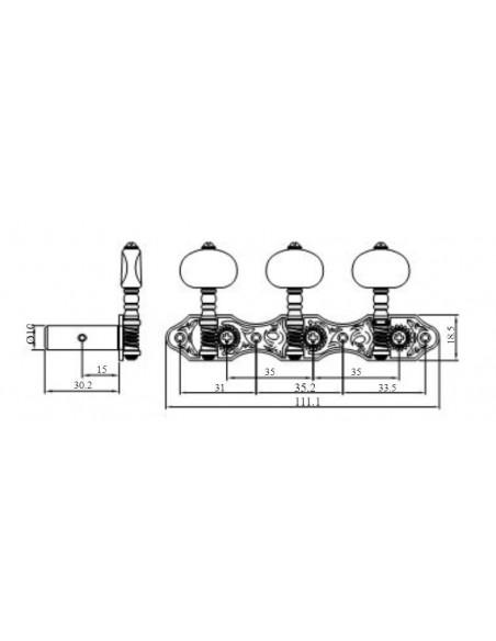 Clavijero RM-1388T-7DM