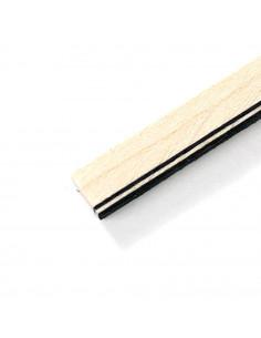 Maple - Black White Black Binding
