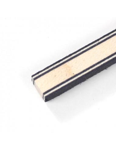 Tira Fondo Negro Blanco Negro - Arce - Negro Blanco Negro