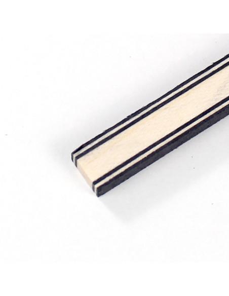 Black White Black - Maple - Black White Black Joint Side