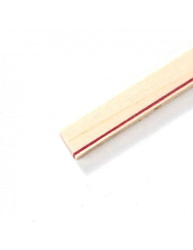 Maple - Red White Binding