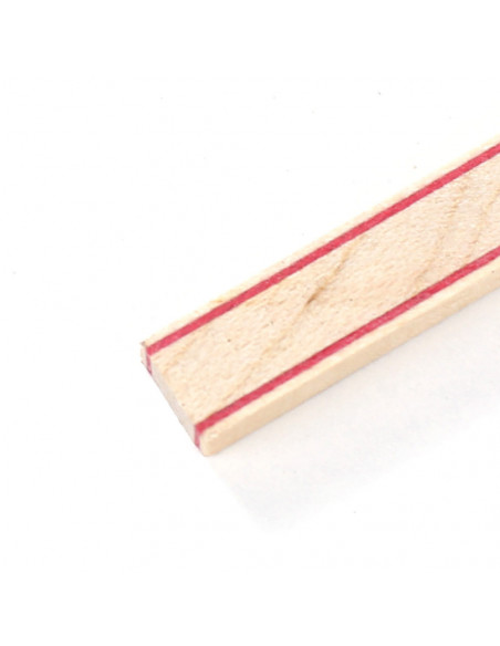 Tira Fondo Blanco Rojo - Arce - Blanco Rojo