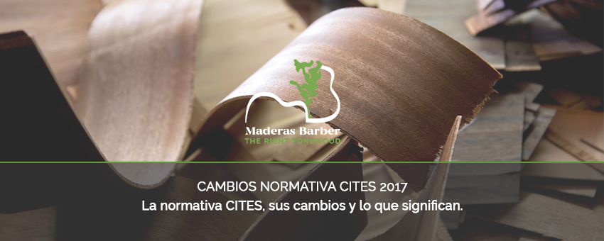 CITES - CAMBIOS NORMATIVA