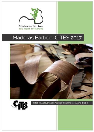 Maderas Barber - CITES 2017