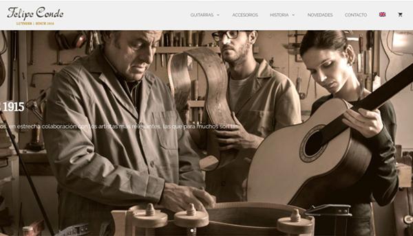 Luthier Felipe Conde